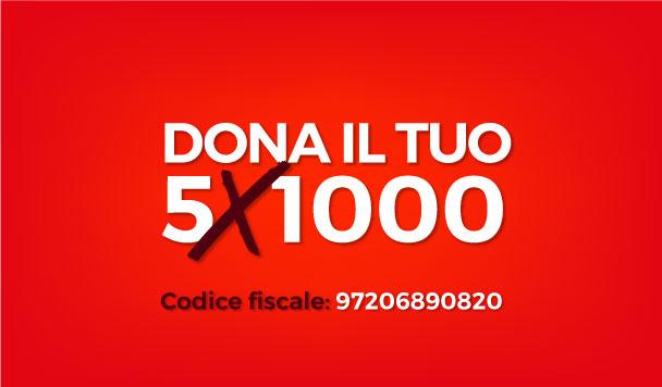 donazioni 5x1000 grande famiglia